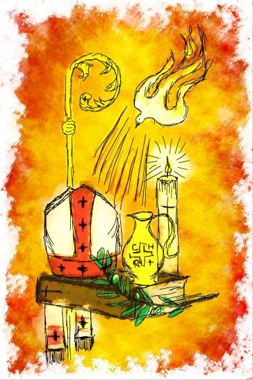 Bishop holy spirit image